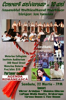 concert ansamblul martisor waterloo